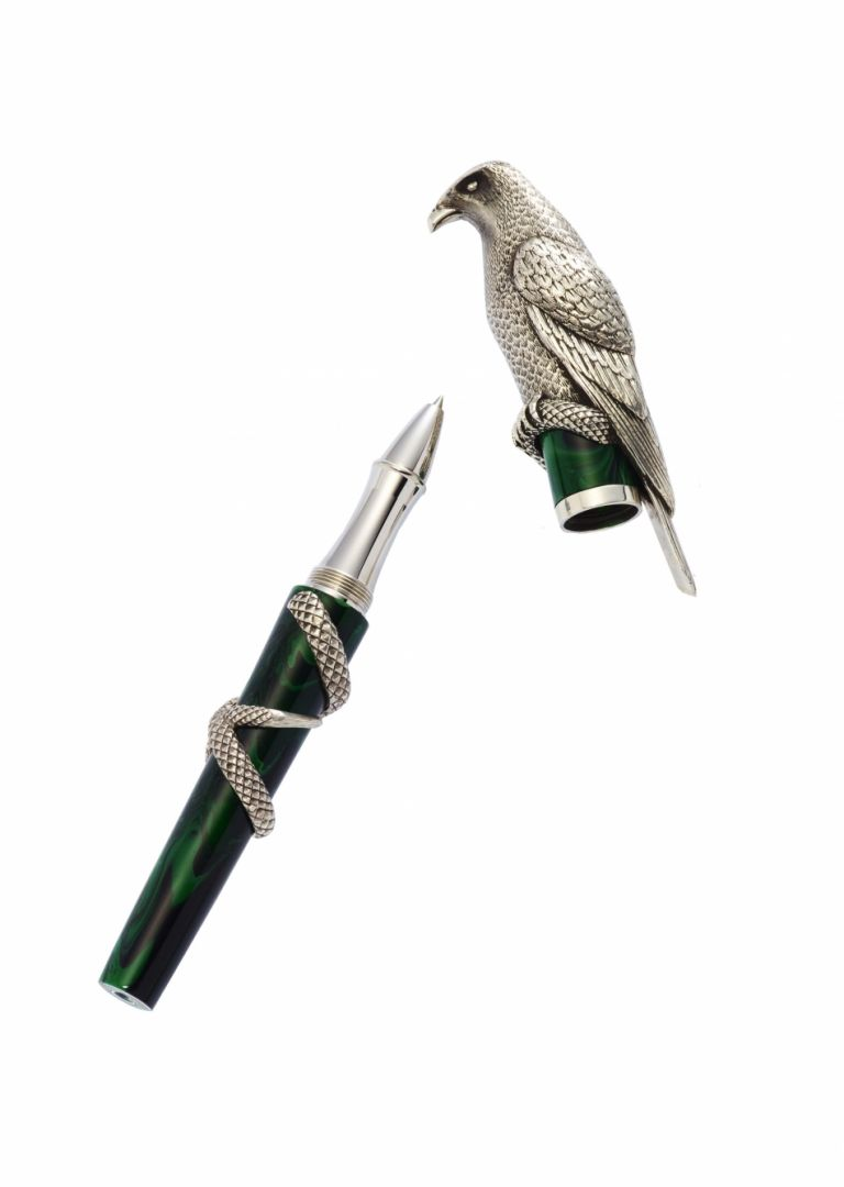 ROLLER BALL FALCON STERLING SILVER URSO