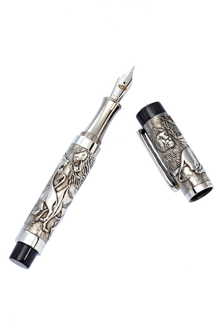 "FOUNTAIN PEN ""THE LION KING"" URSO LUXURY LIMITED EDITION 100PCS URSO"