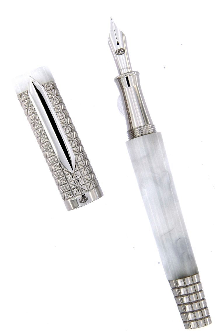 FOUNTAIN PEN  ASCOT MOTHER OF PEARL URSO